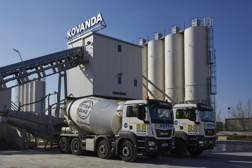 neues Betonwerk Kovanda