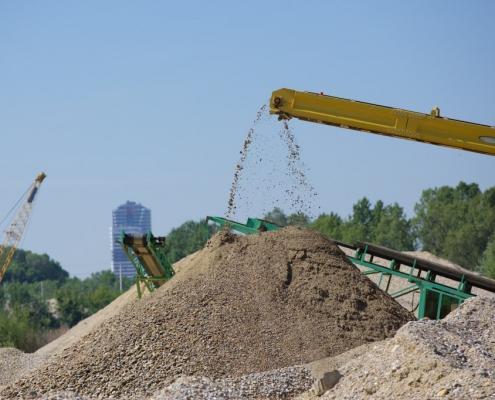 Sand- & Schotterwerk
