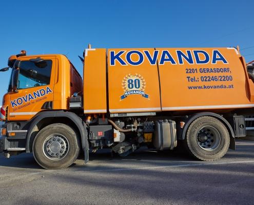 Kehr-LKW zur Reinigung
